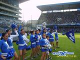 emelec cheerleaders cheer leaders cachiporreras