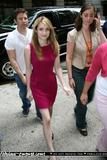 Leggy Emma Roberts Arriving at Regis & Kelly Show MQ5
