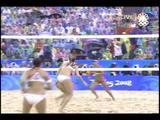 Misty May-Treanor and Kerri Walsh-08.20.08-Beijing Olympics-Gold Medal Match In The Rain