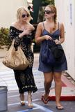 Jessica Simpson Candids w/ CaCee Cobb's Pookies